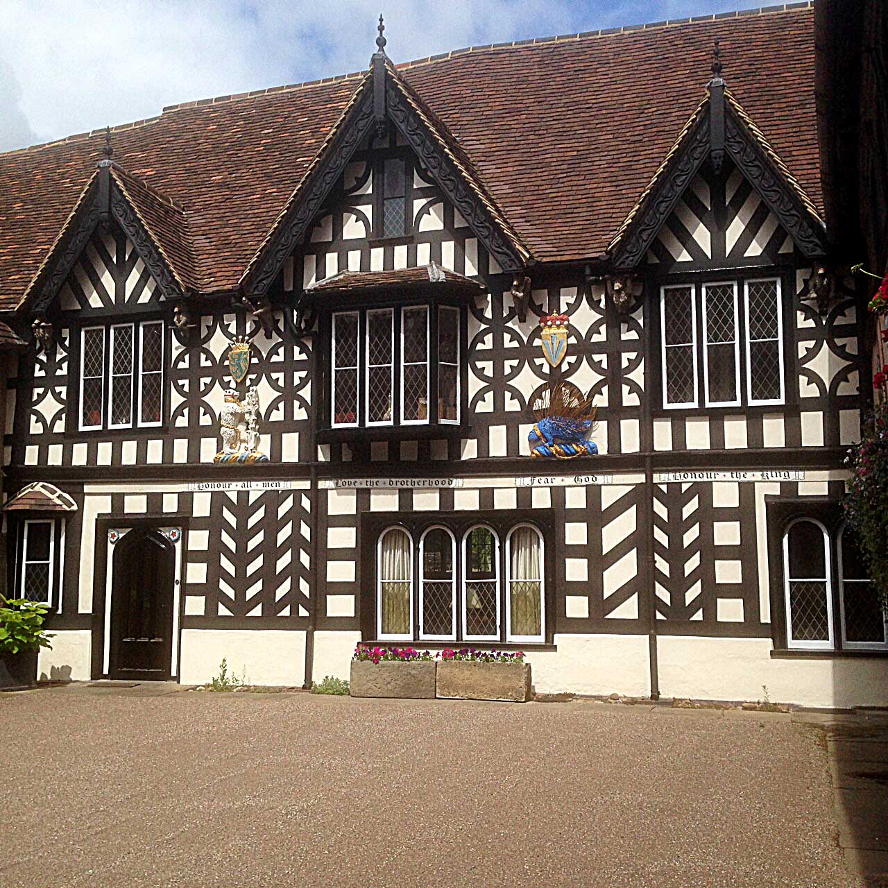 Refurbishment of facade at Lord Leycester